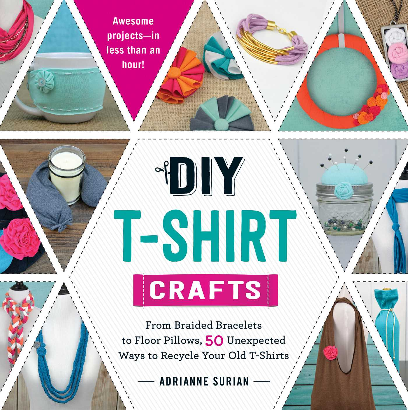 diy t shirt crafts book by adrianne surian official publisher