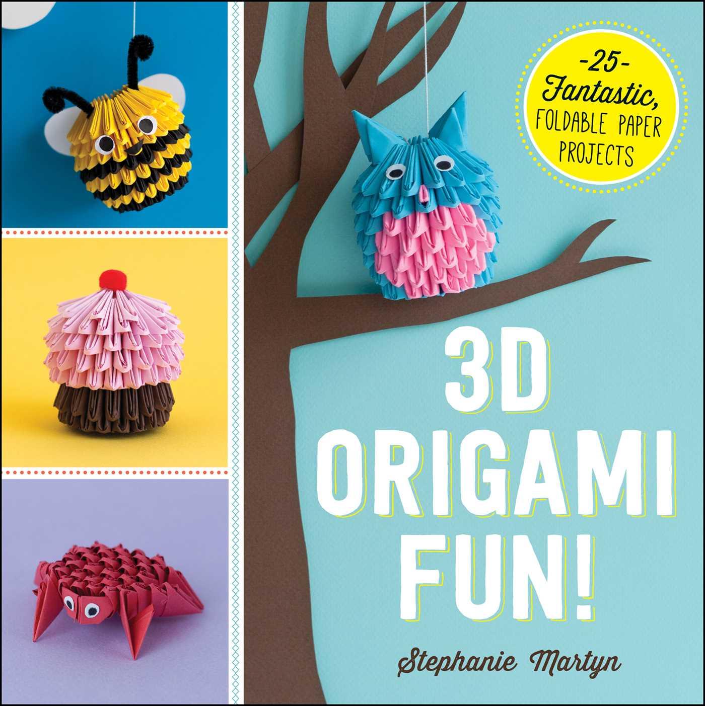 3d Origami Fun 9781440590313 Hr