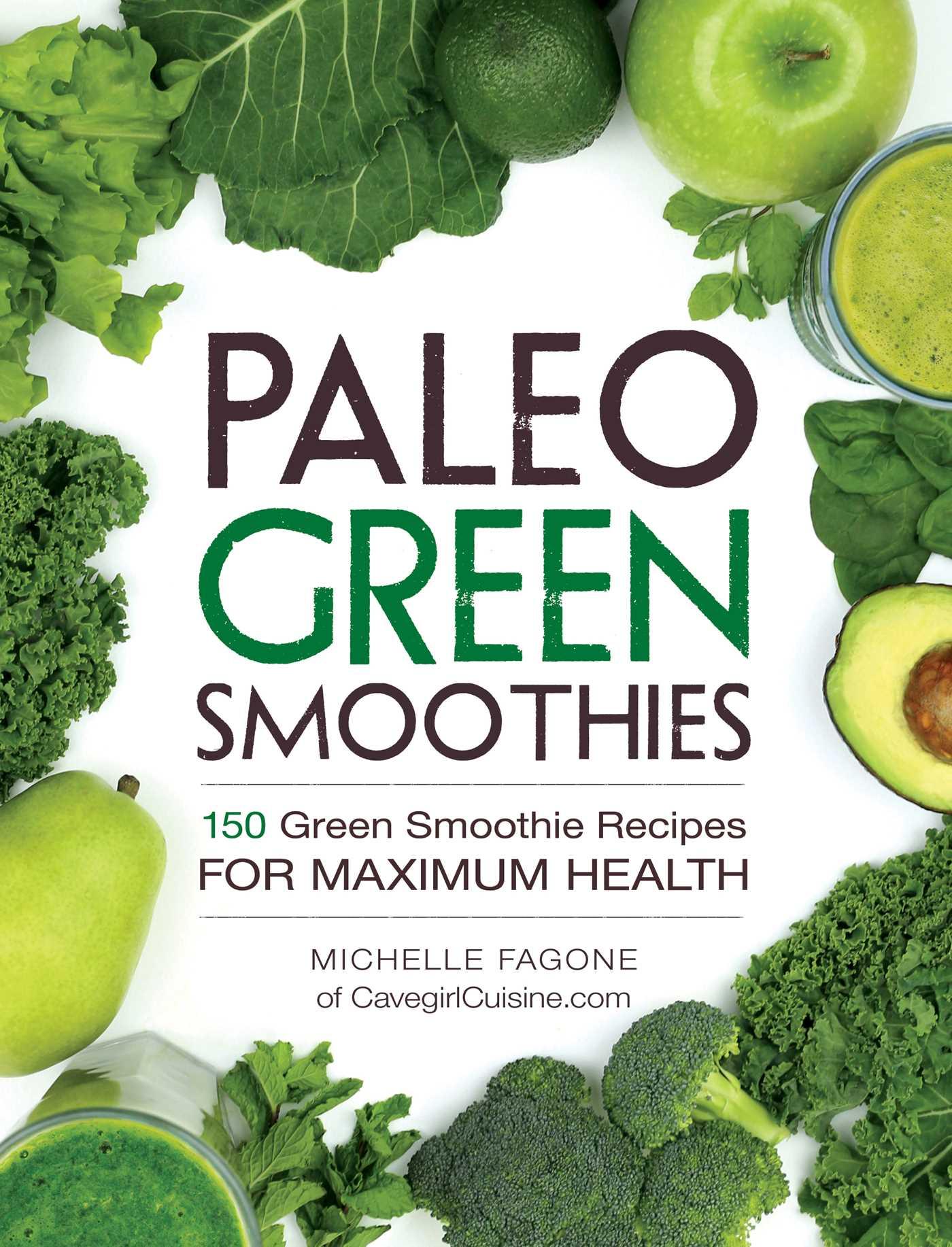 Paleo green smoothies 9781440592935 hr