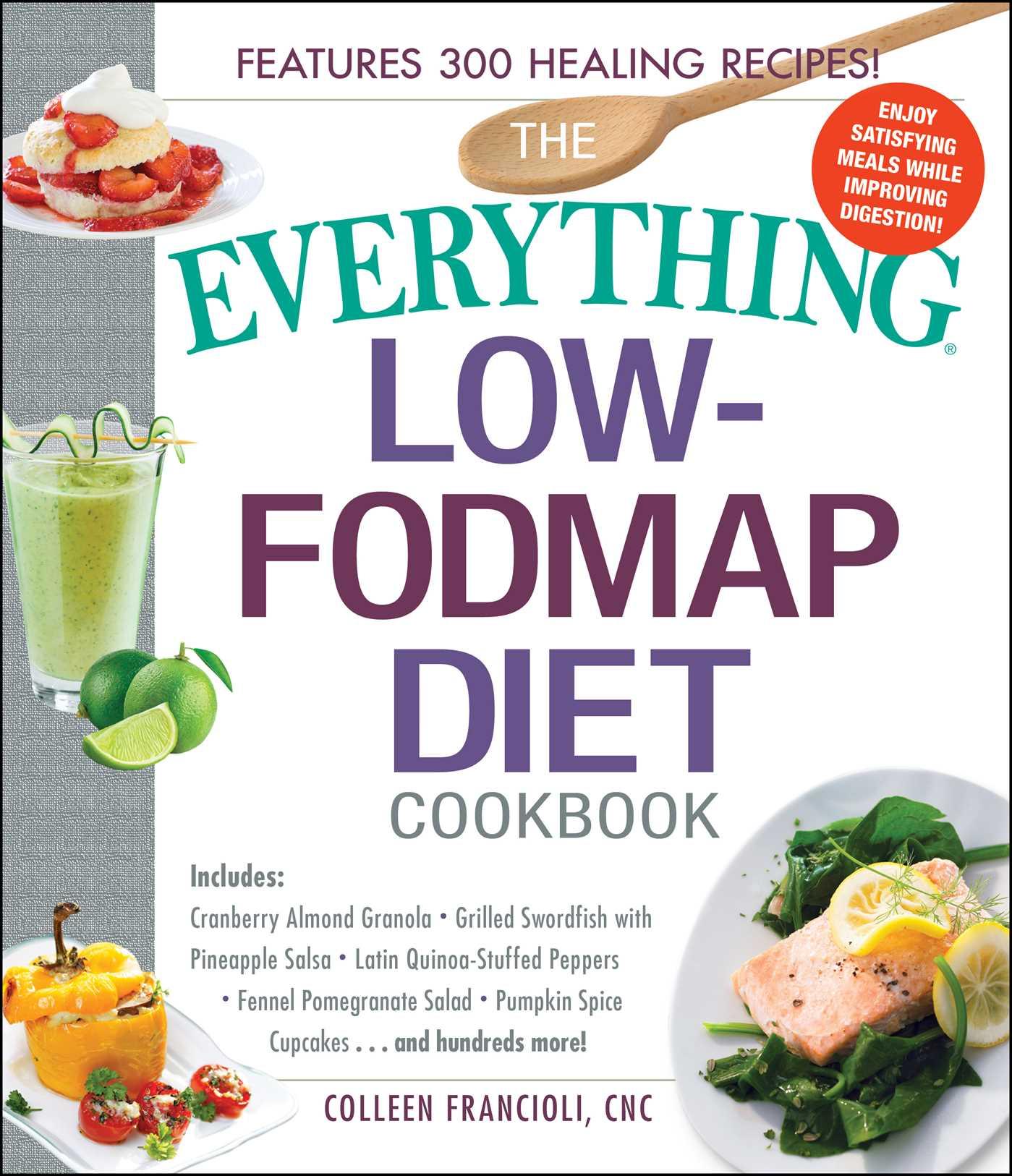 The everything low fodmap diet cookbook 9781440595295 hr