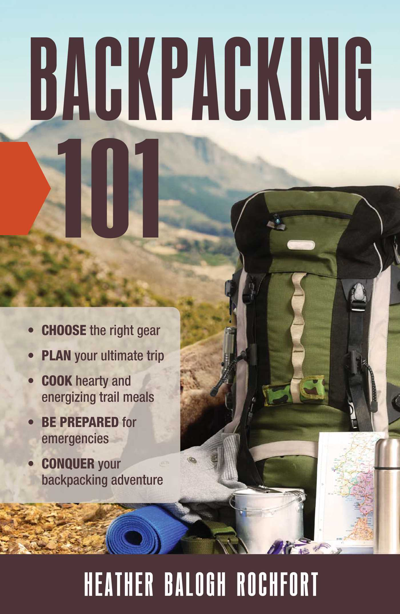 Backpacking 101 9781440595882 hr