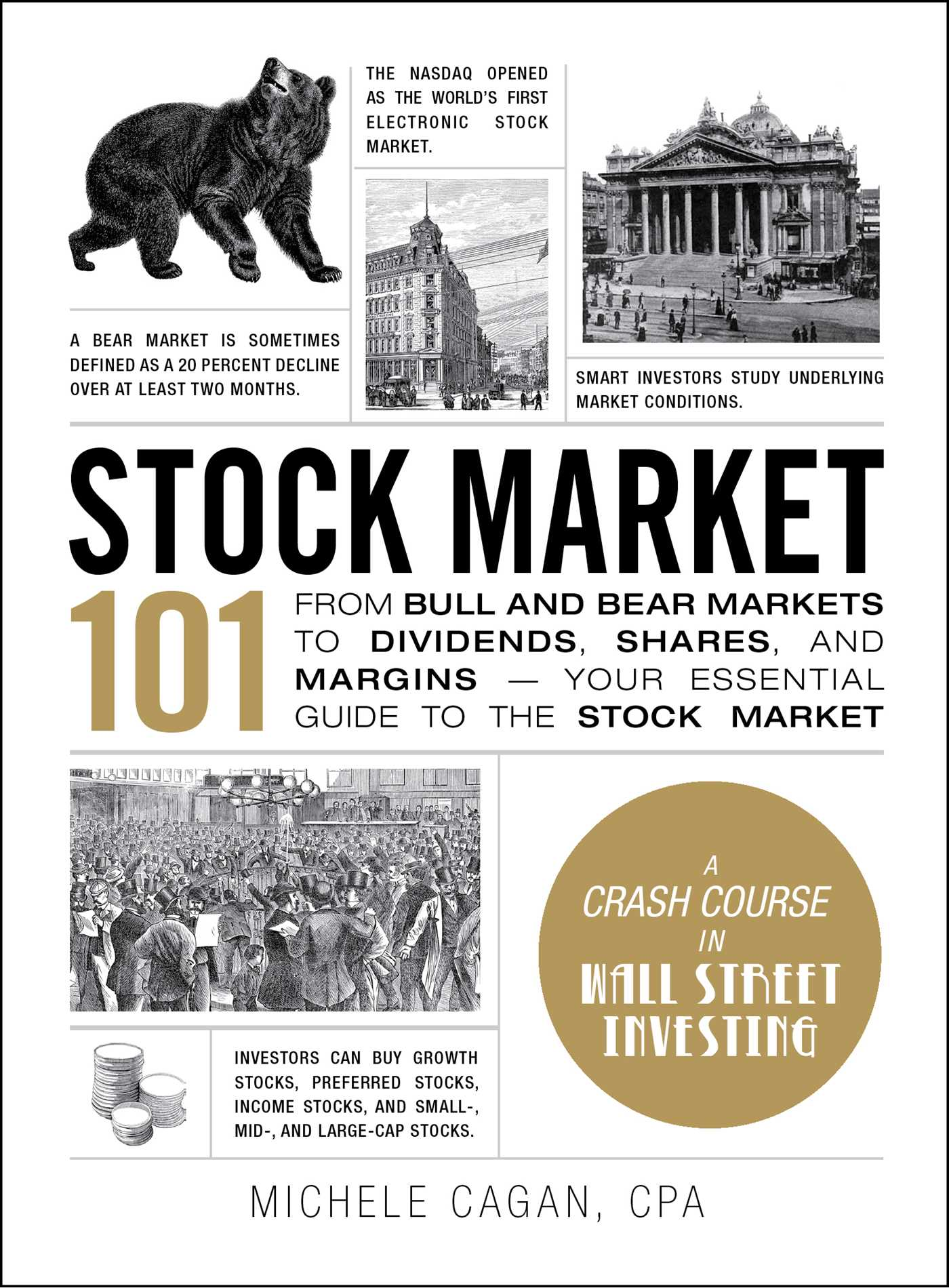 stock market 101 | book by michele cagan | official publisher page