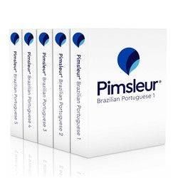 Pimsleur Portuguese (Brazilian) Levels 1-5 CD