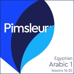 Pimsleur Arabic (Egyptian) Level 1 Lessons 16-20 MP3