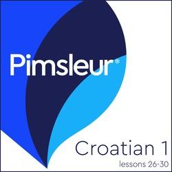 Pimsleur Croatian Level 1 Lessons 26-30