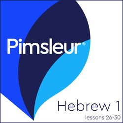 Pimsleur Hebrew Level 1 Lessons 26-30 MP3