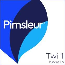 Pimsleur Twi Level 1 Lessons  1-5 MP3