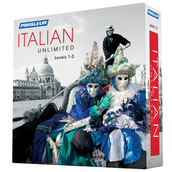 Pimsleur Italian Levels 1-3 Unlimited Software
