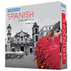 Pimsleur Spanish Levels 1-4 Unlimited Software
