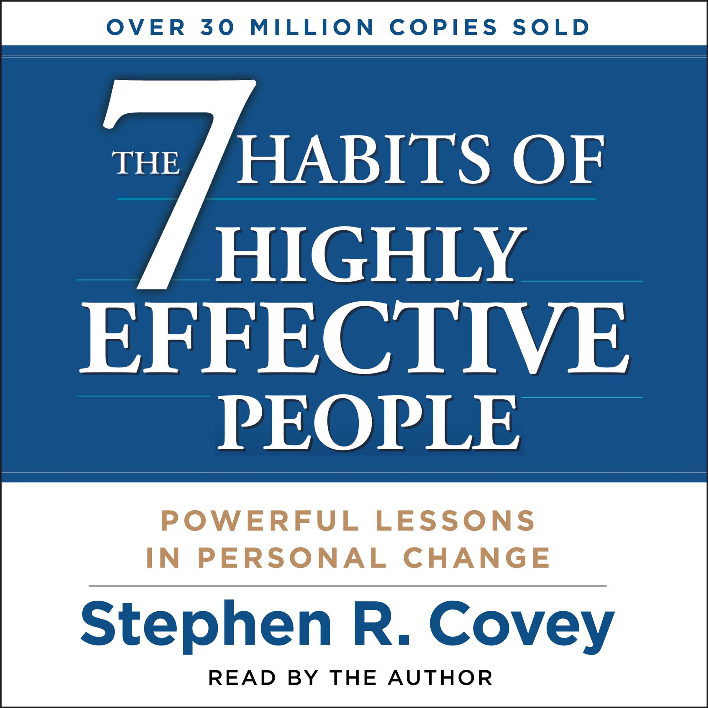 Book Cover Image (jpg): The 7 Habits of Highly Effective People