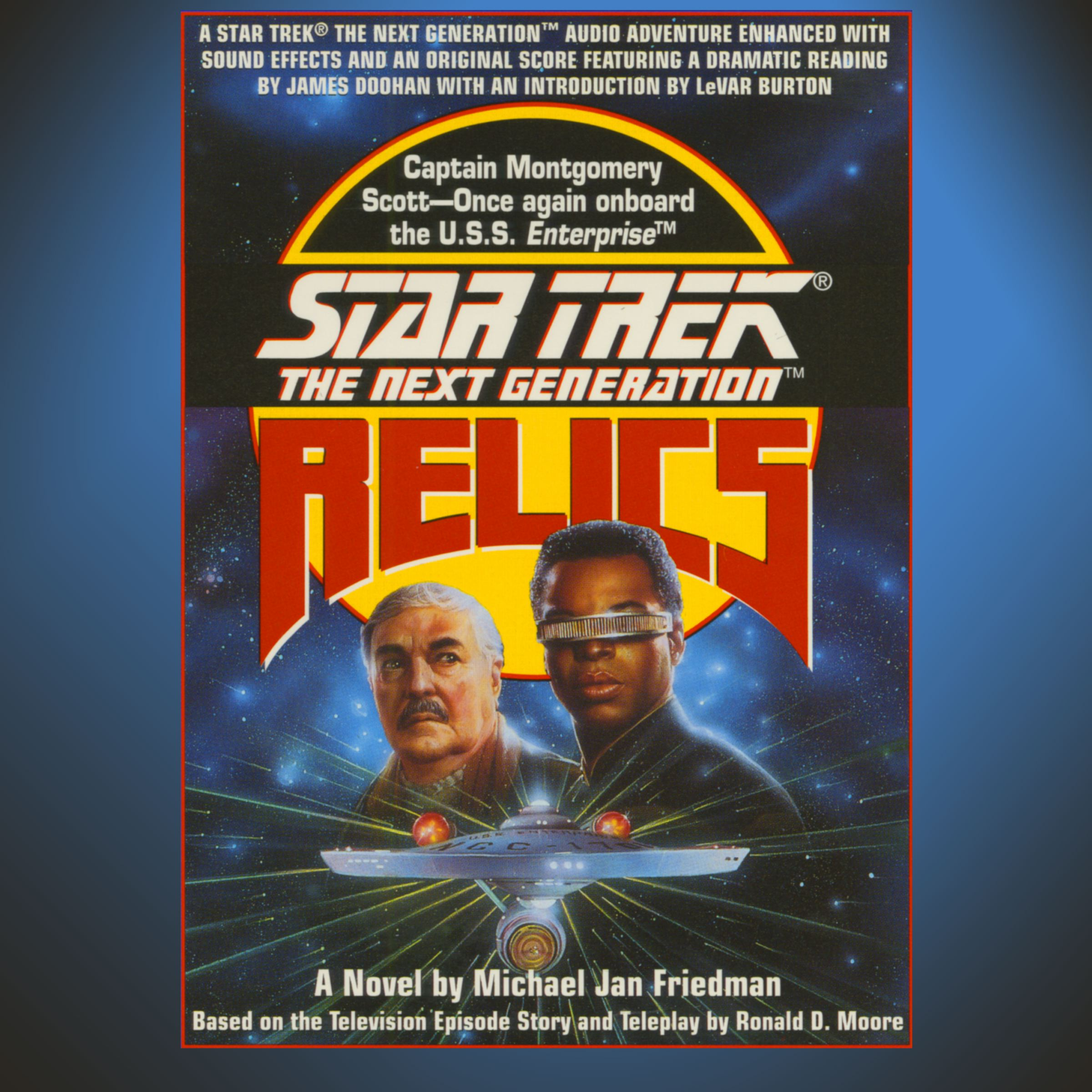 Star trek the next generation relics 9781442368354 hr