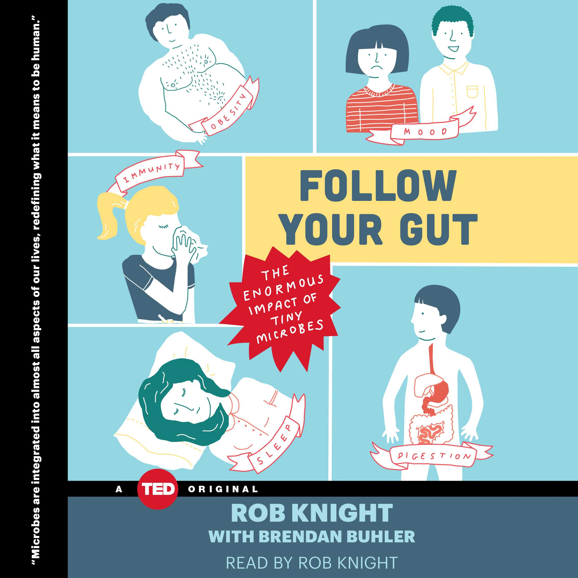 Follow Your Gut Audiobook By Rob Knight Official Publisher Page