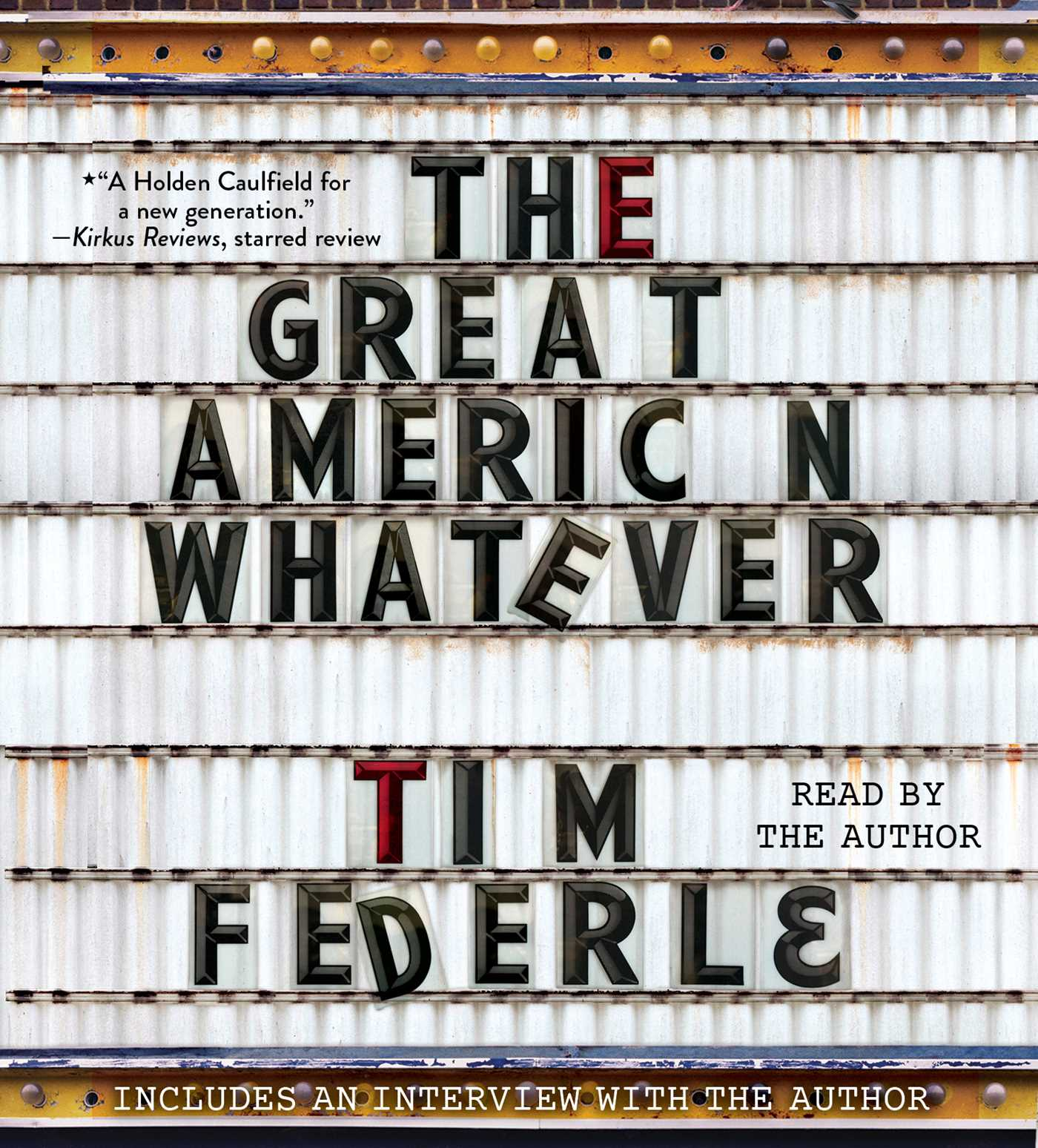 The great american whatever 9781442395008 hr