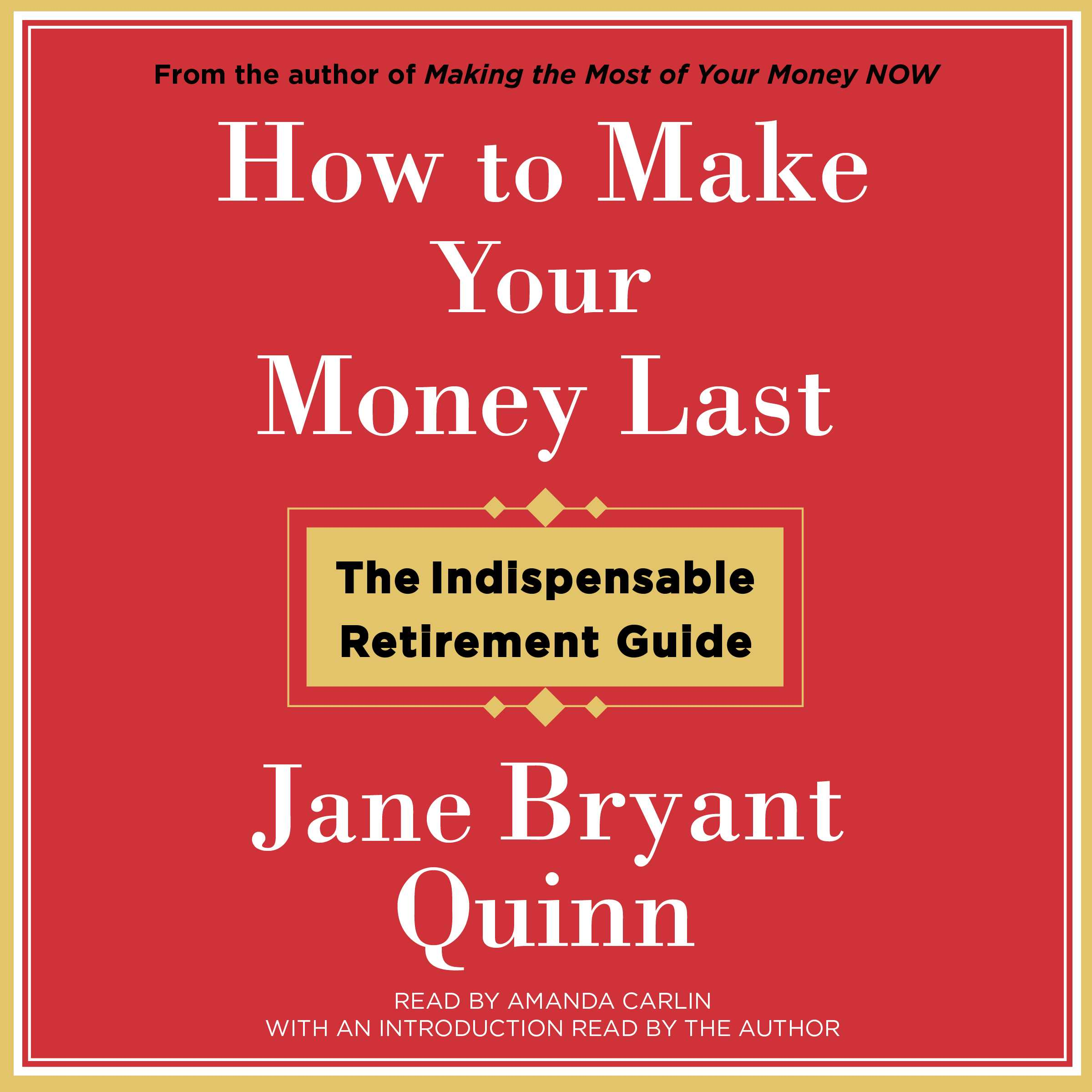 How to make your money last 9781442395671 hr
