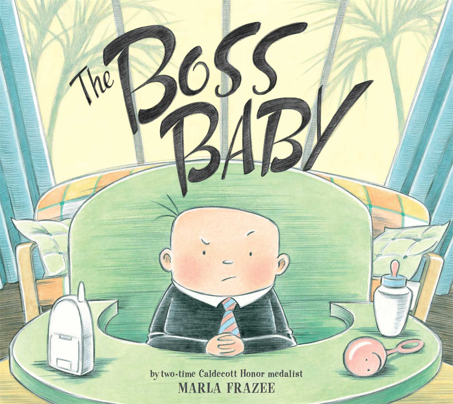 The boss baby 9781442401679 hr