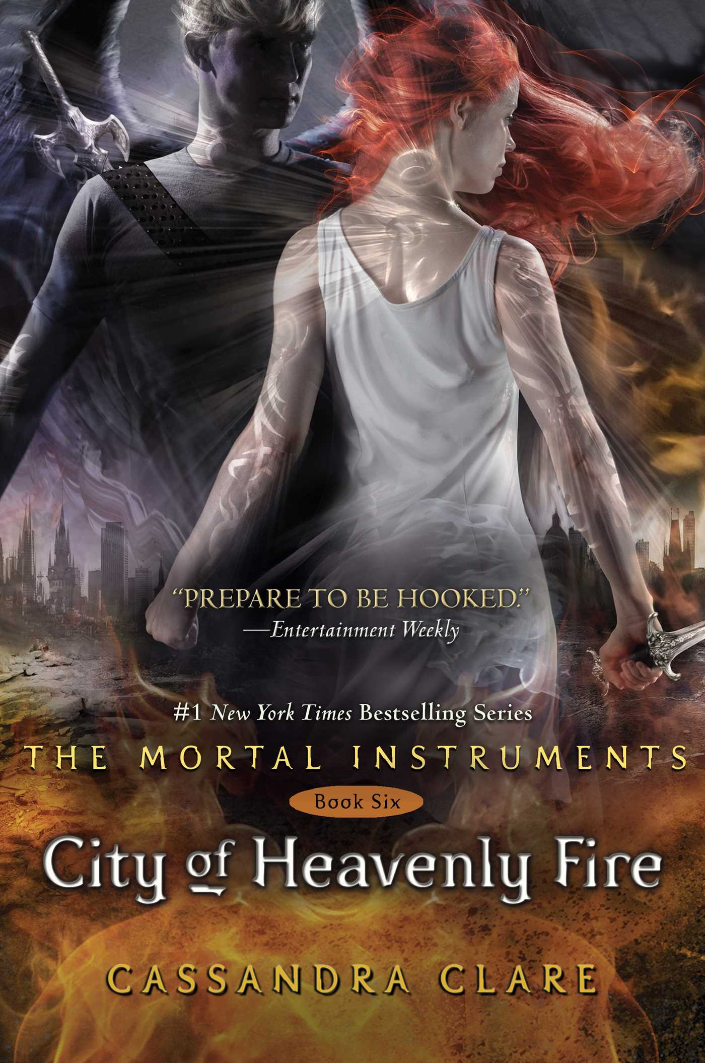 City of heavenly fire 9781442416895 hr