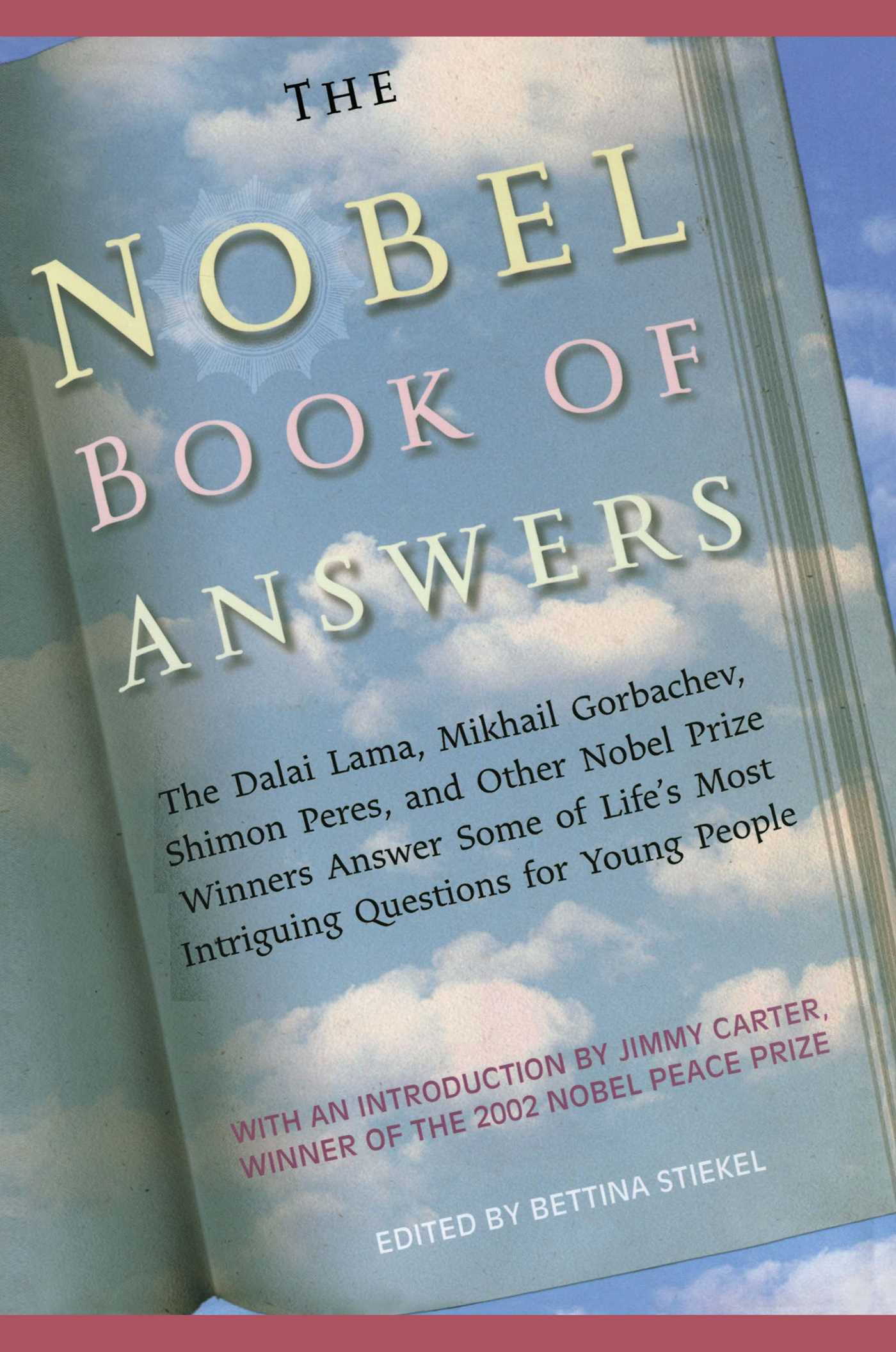 The nobel book of answers 9781442421936 hr