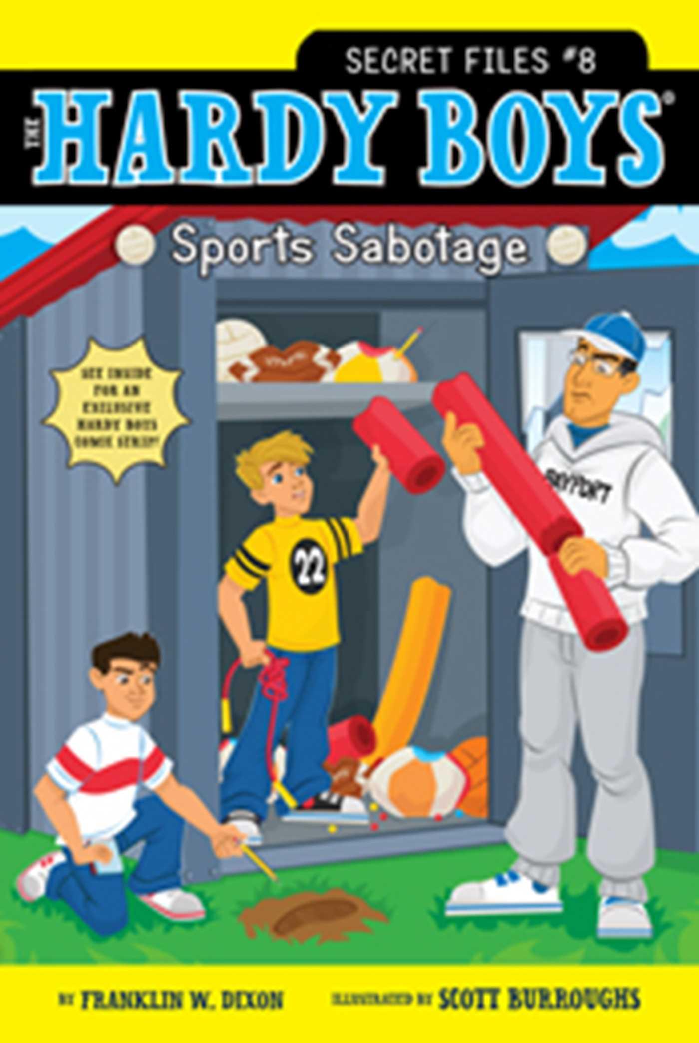 Sports sabotage 9781442423176 hr