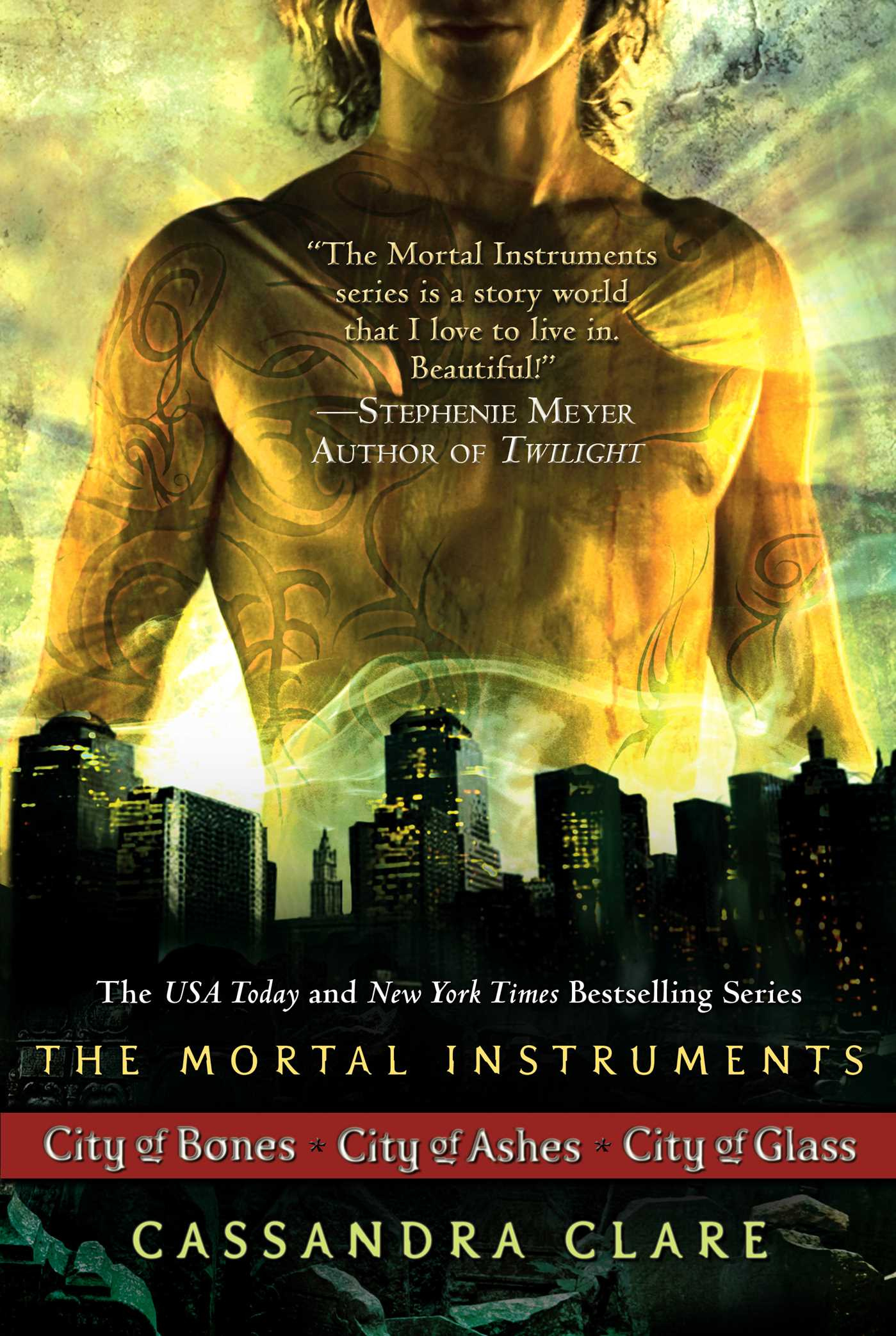 Cassandra Clare: The Mortal Instrument Series (3 books ...