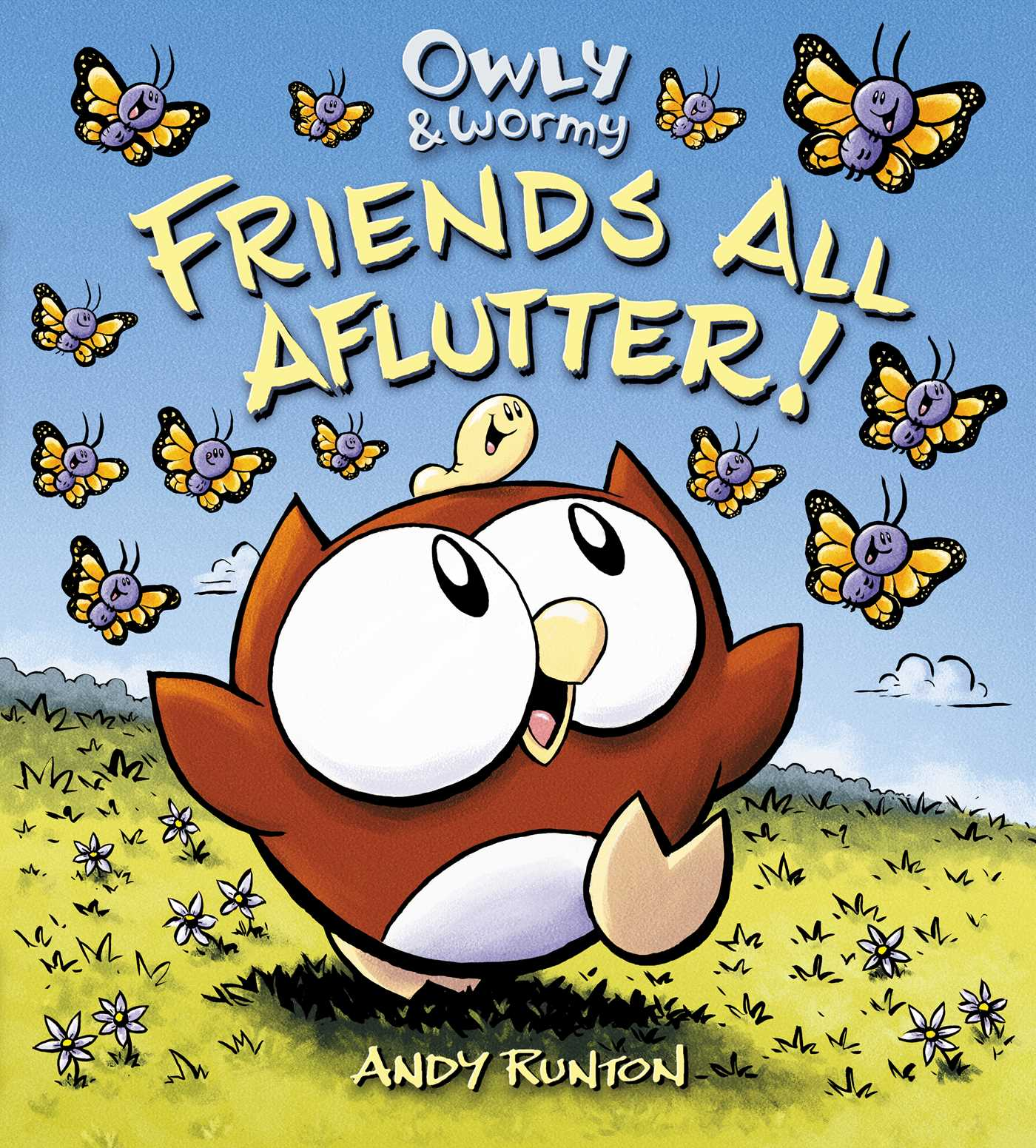 Owly wormy friends all aflutter 9781442433526 hr