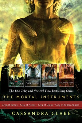 Cassandra Clare: The Mortal Instrument Series (4 books)