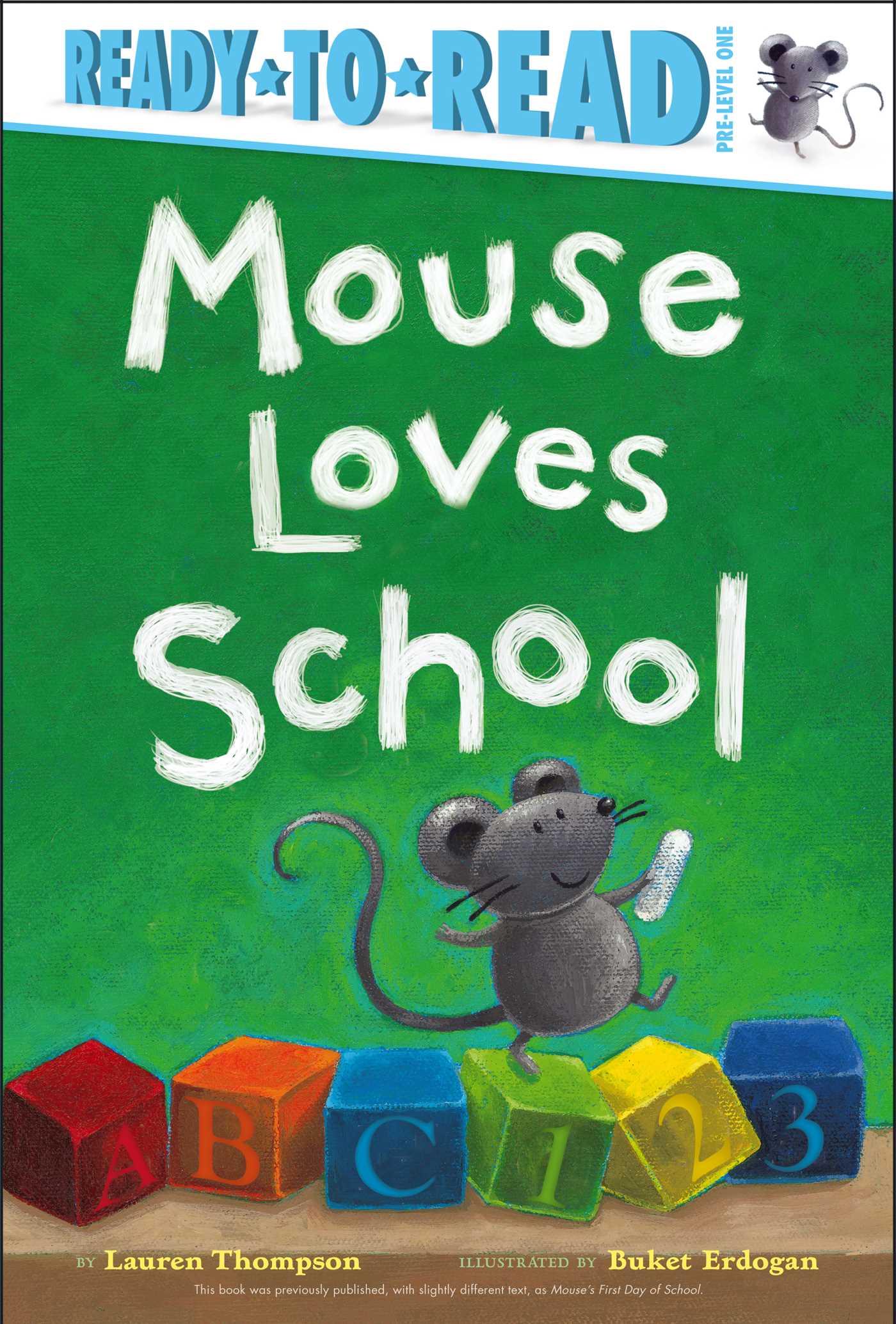 Mouse loves school 9781442442719 hr