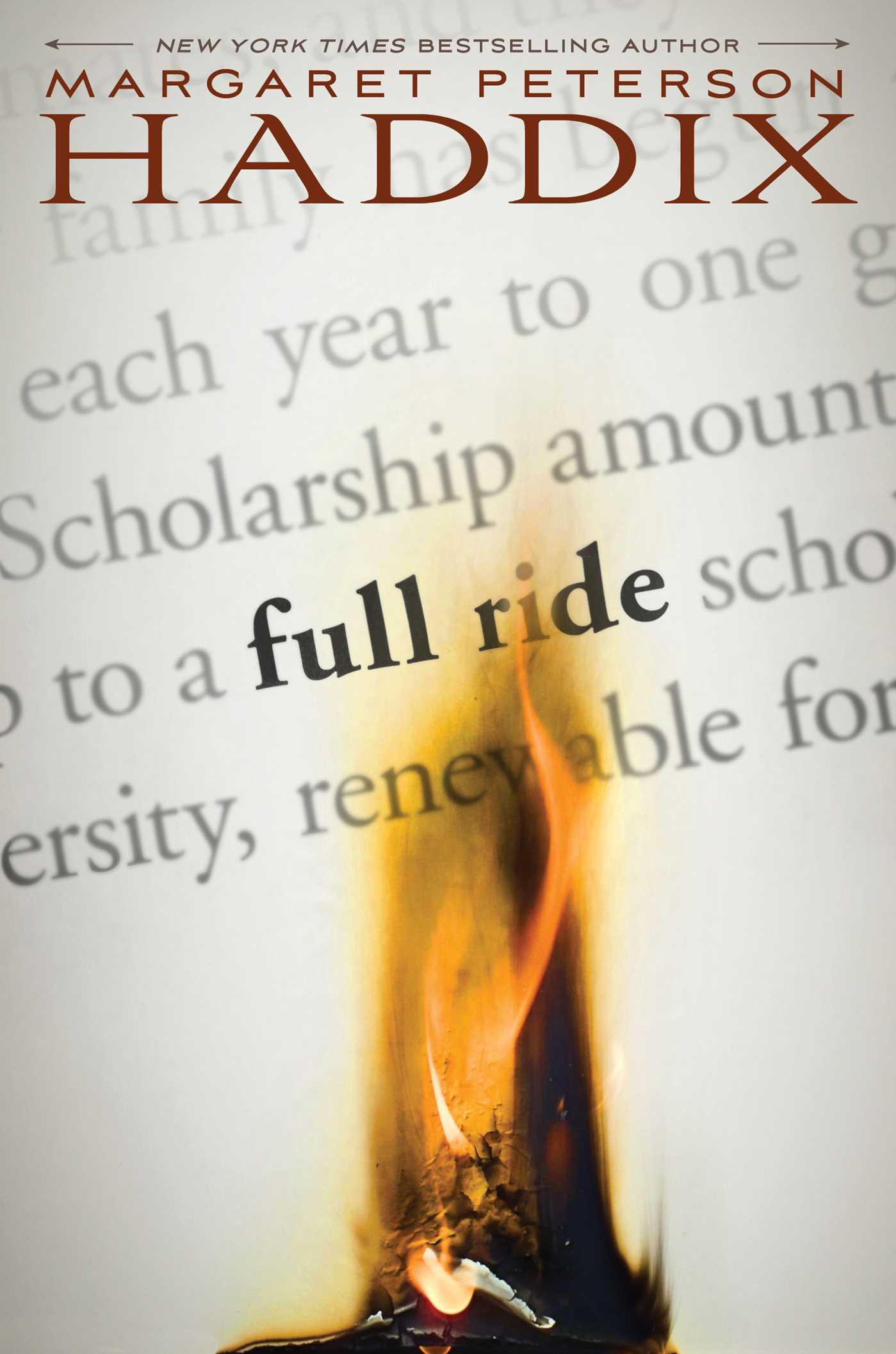 Full ride 9781442442795 hr