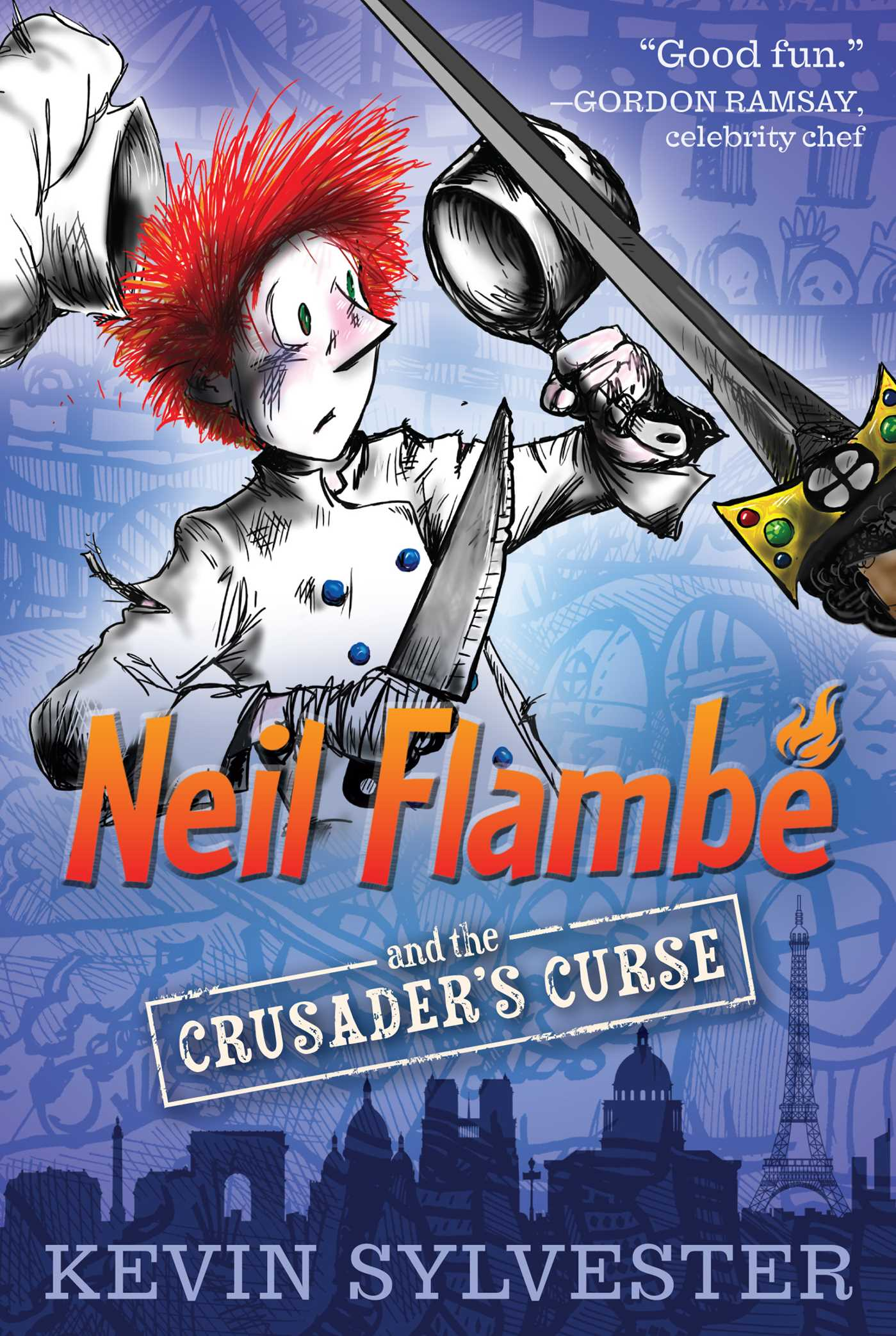 Neil flambe and the crusaders curse 9781442442870 hr