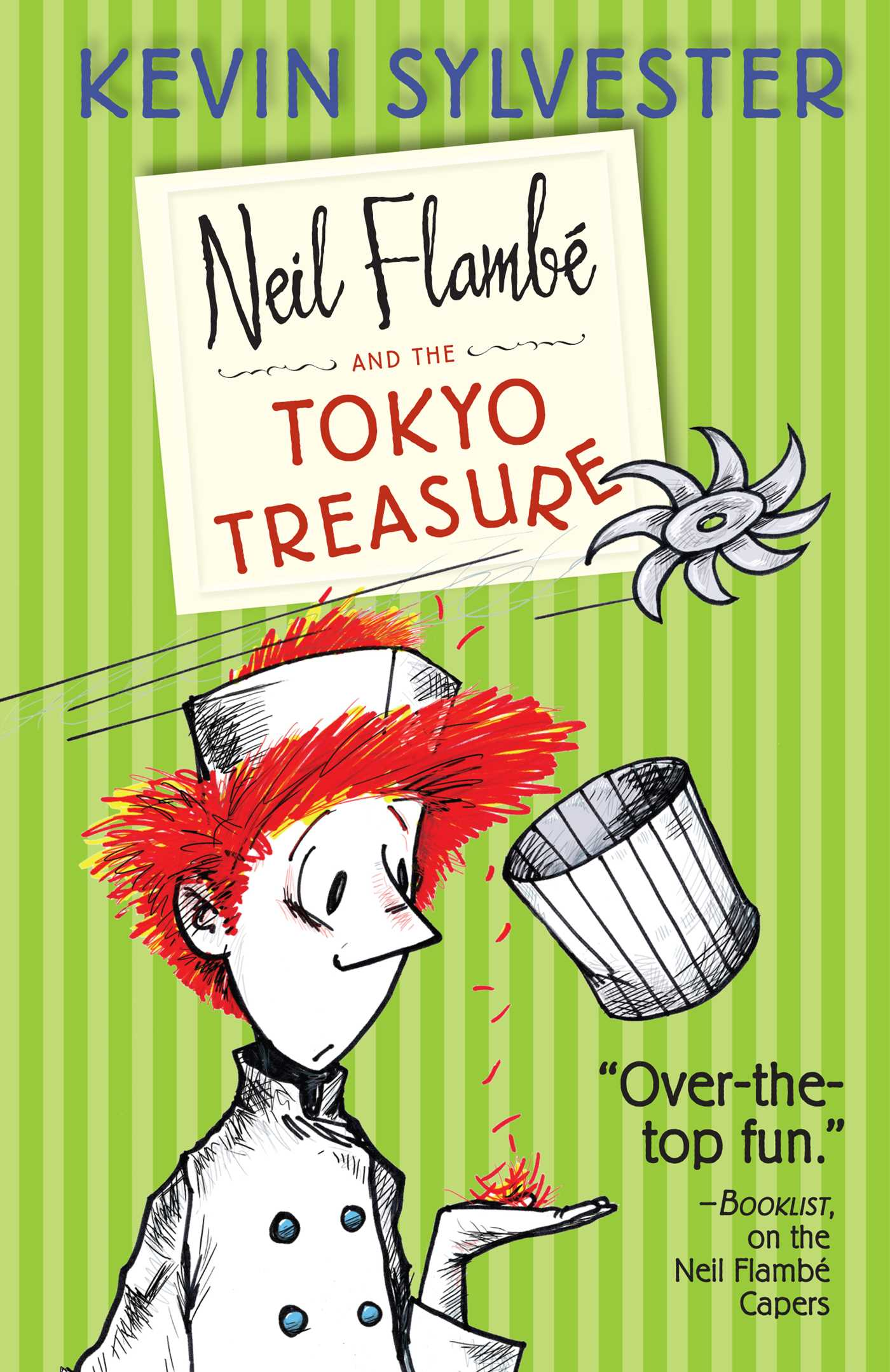 Neil flambe and the tokyo treasure 9781442442986 hr