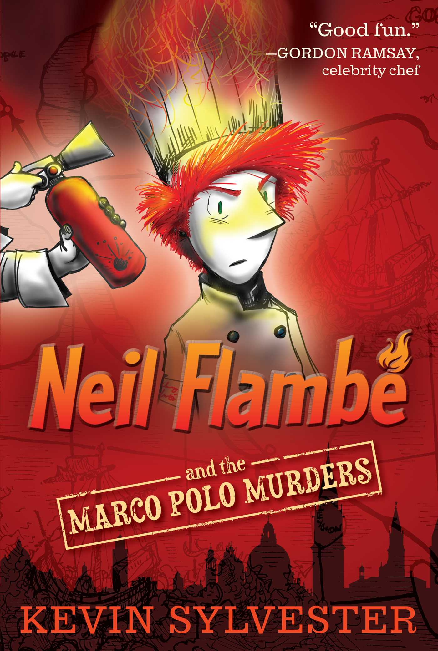 Neil Flambé and the Crusaders Curse (The Neil Flambe Capers)