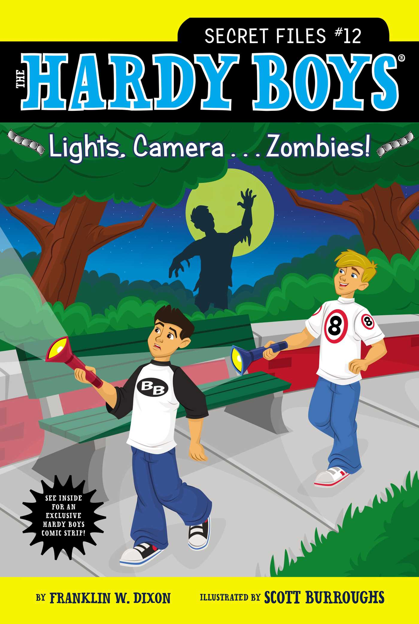 Lights camera zombies 9781442453708 hr