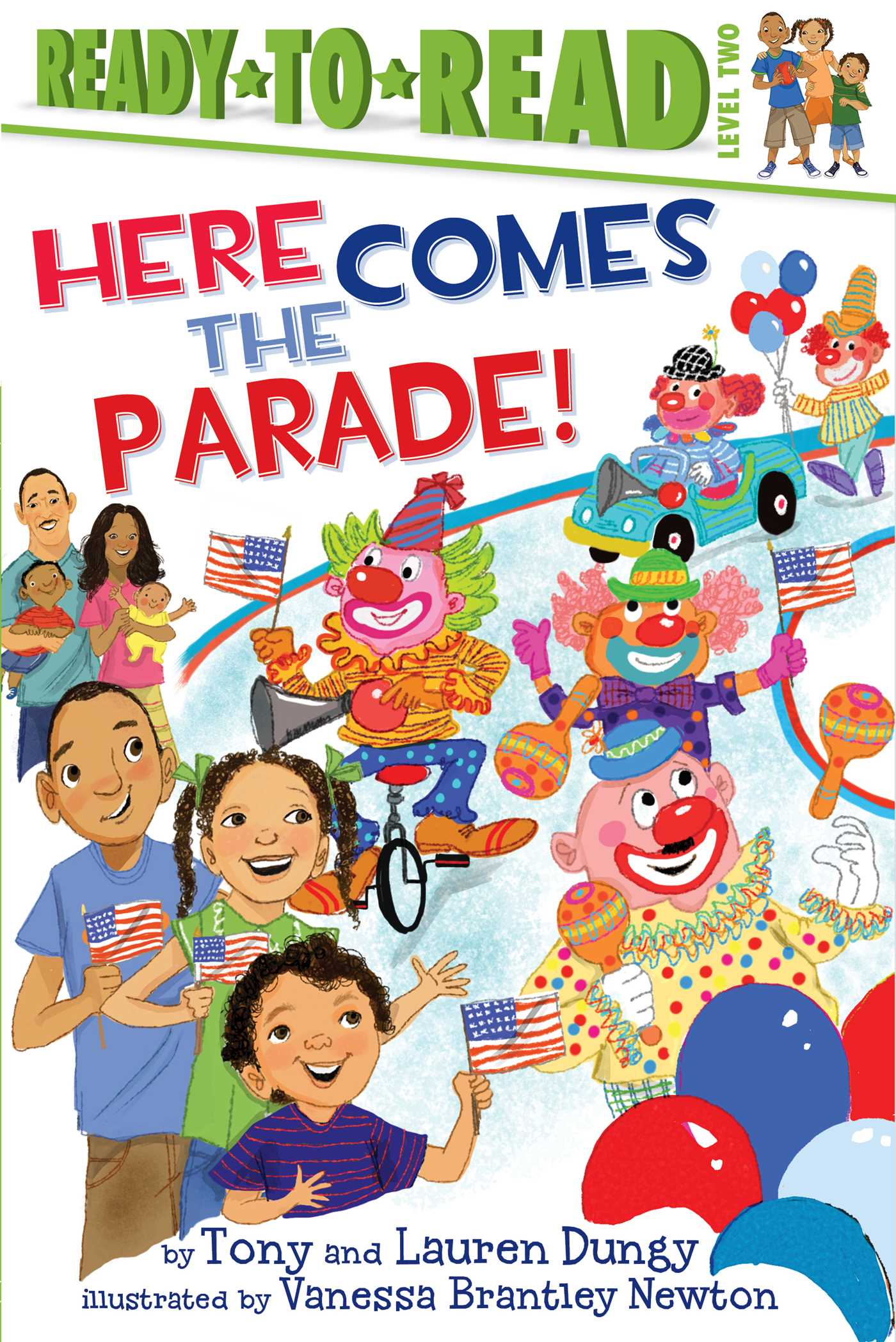Here comes the parade! 9781442454705 hr