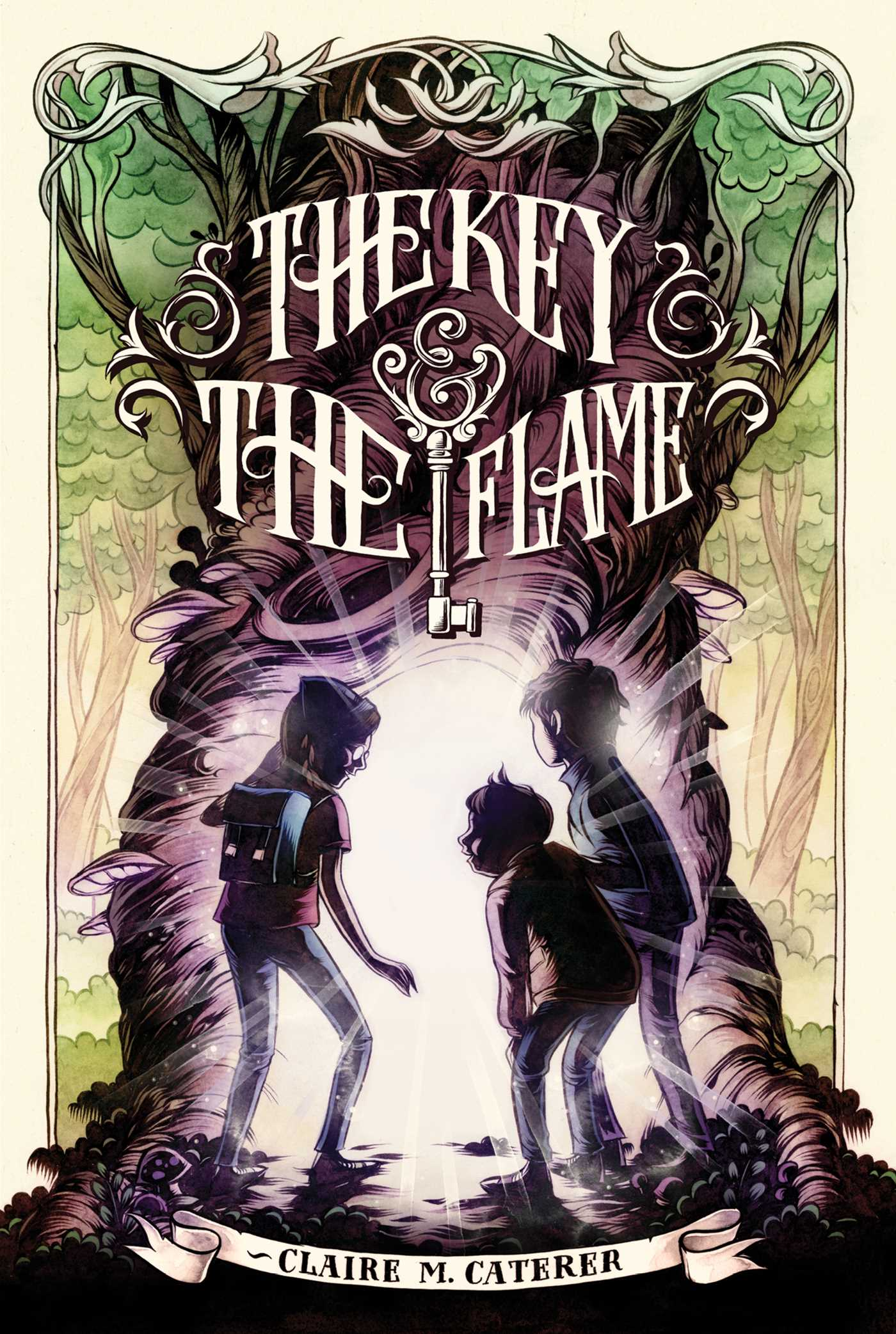 The key the flame 9781442457423 hr