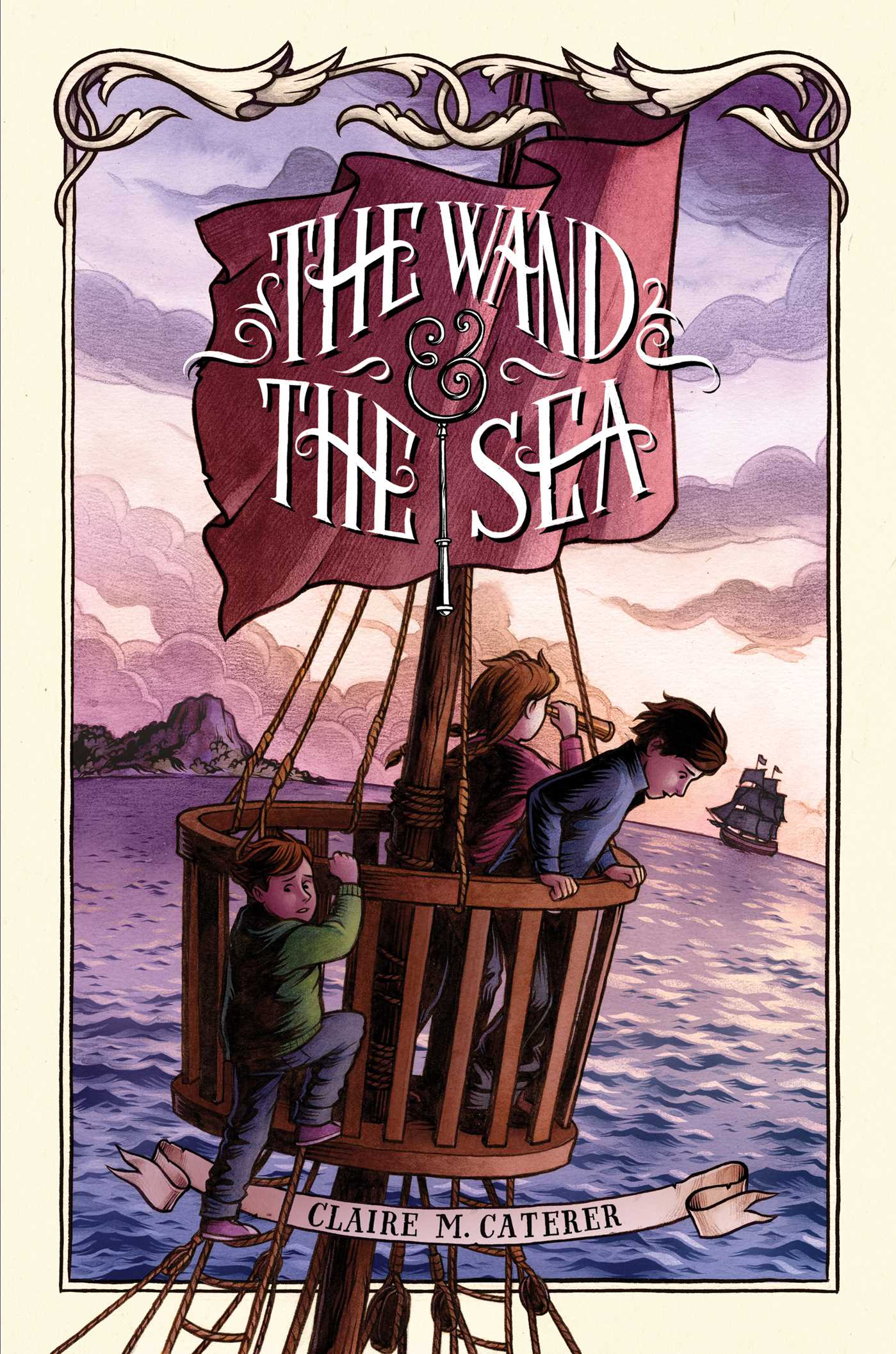 The wand the sea 9781442457447 hr