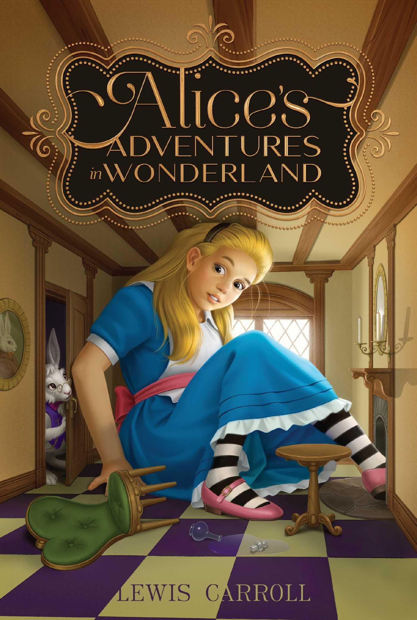 Alices adventures in wonderland 9781442458000 hr