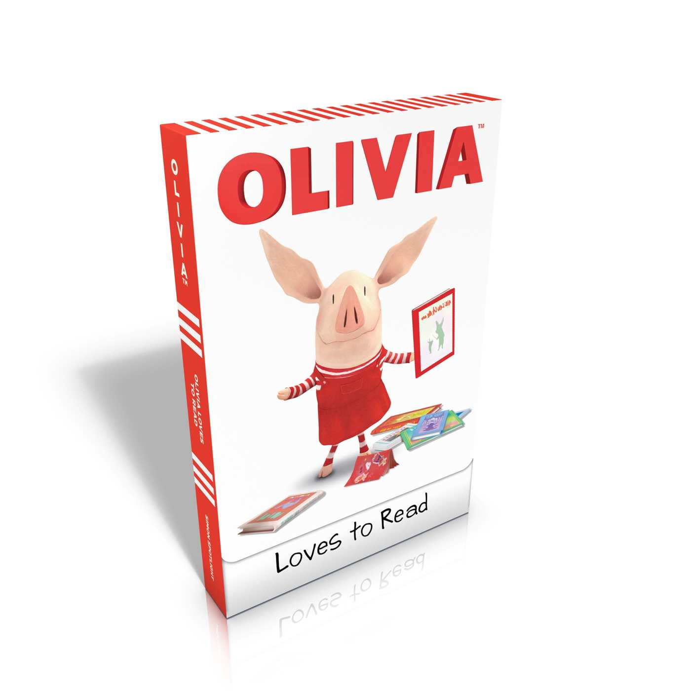 Olivia loves to read 9781442458796 hr