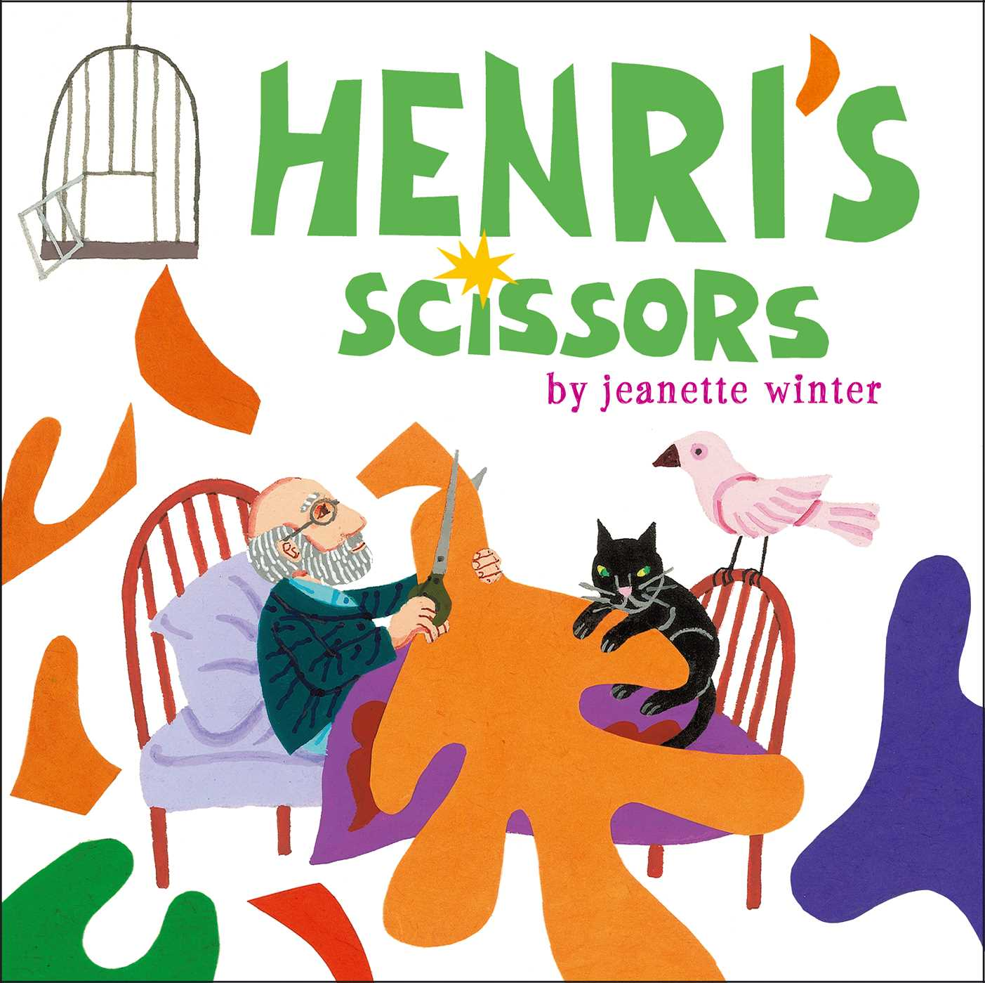 henri s scissors book by jeanette winter official publisher page