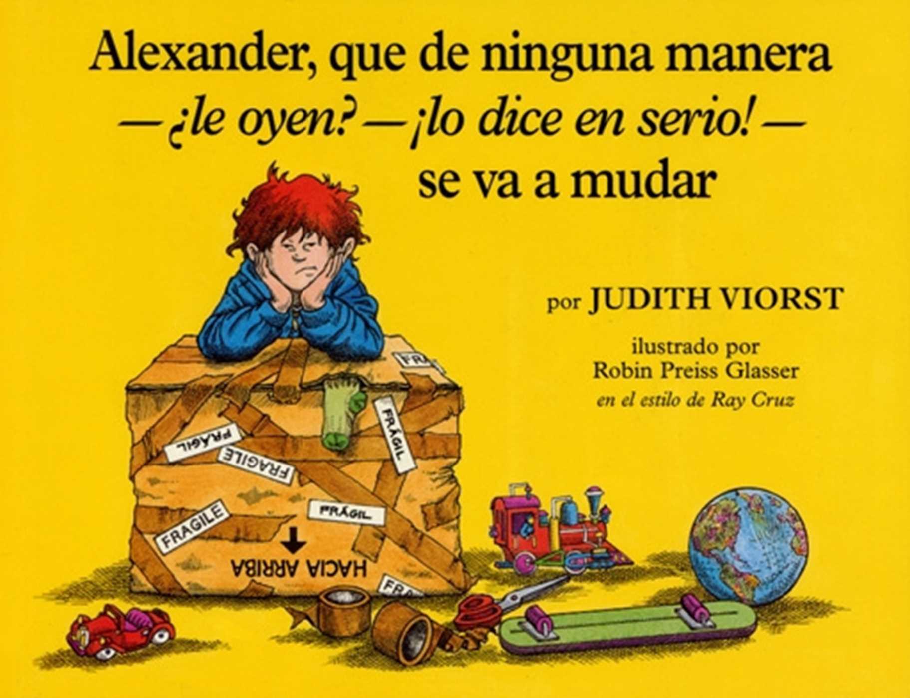 Alexander que de ninguna manera le oyen lo dice en serio se va a mudar 9781442465299 hr