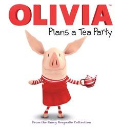 OLIVIA Plans a Tea Party