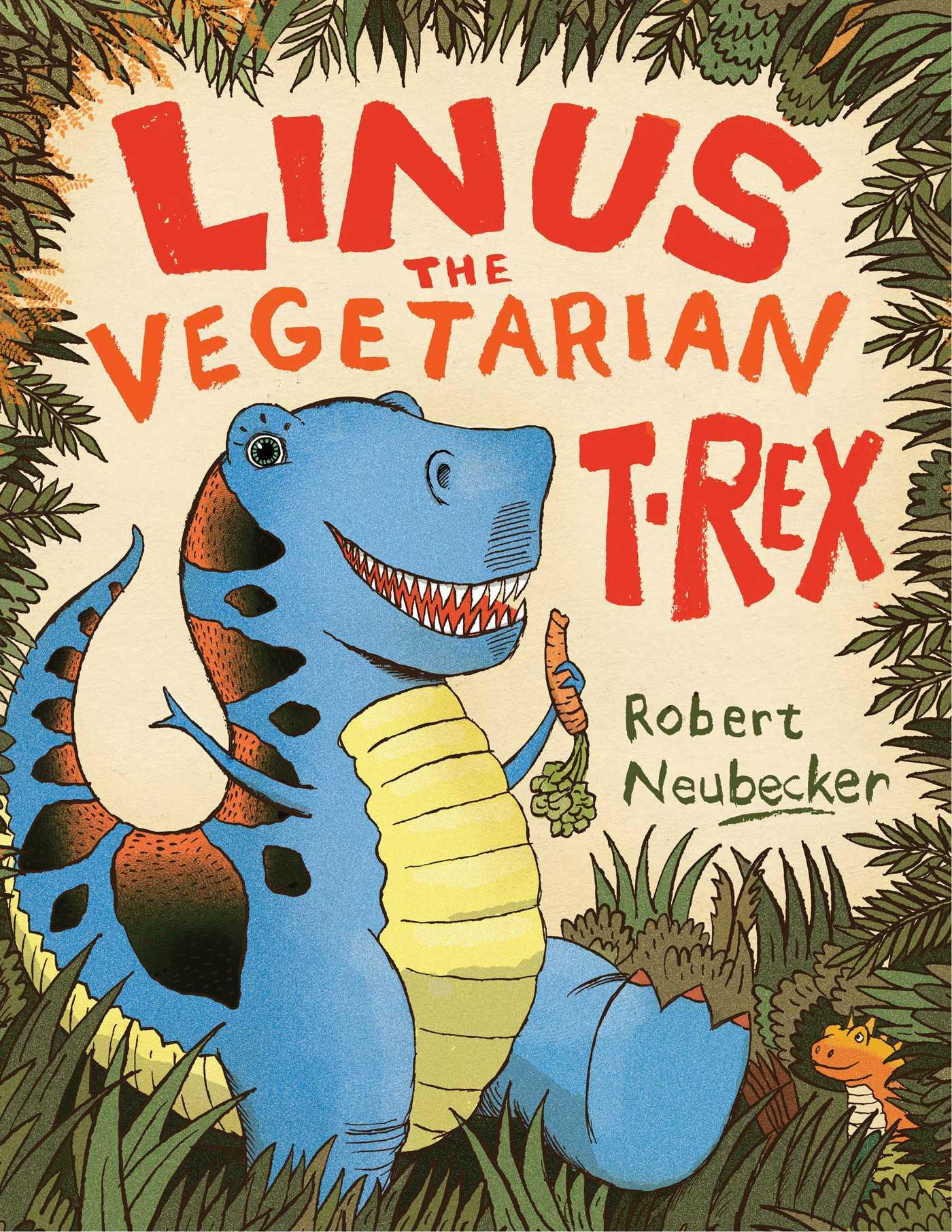 Linus the vegetarian t rex 9781442481879 hr