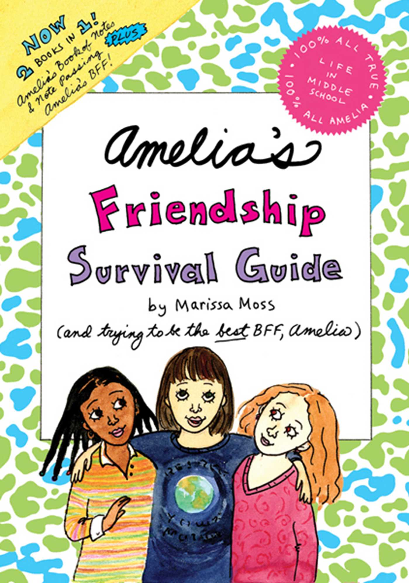 amelia s friendship survival guide book by marissa moss official