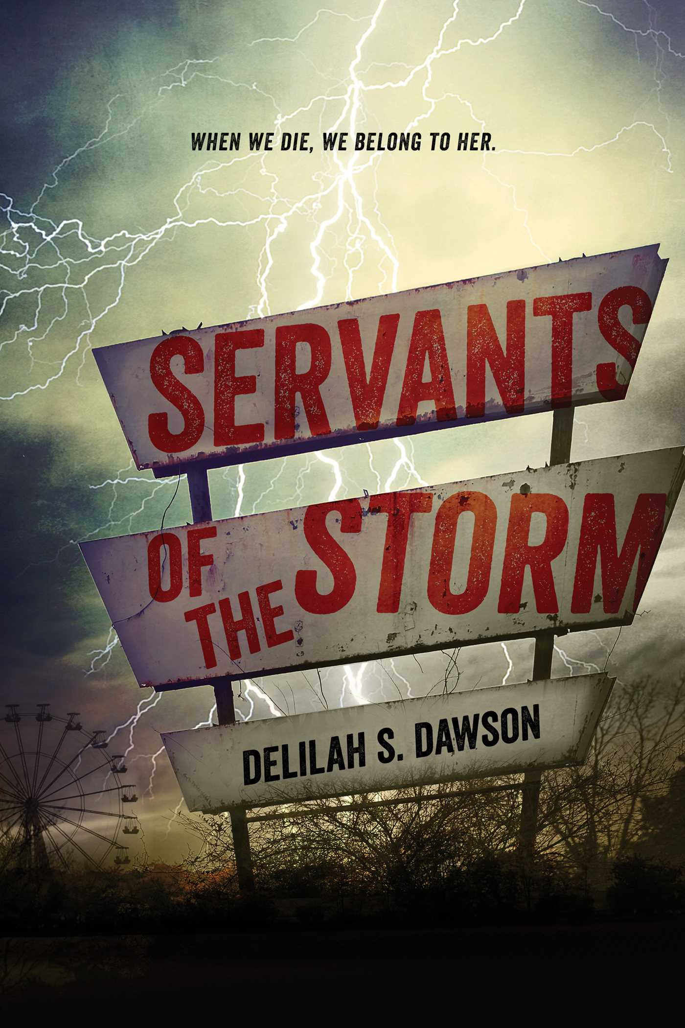 Servants of the storm 9781442483798 hr