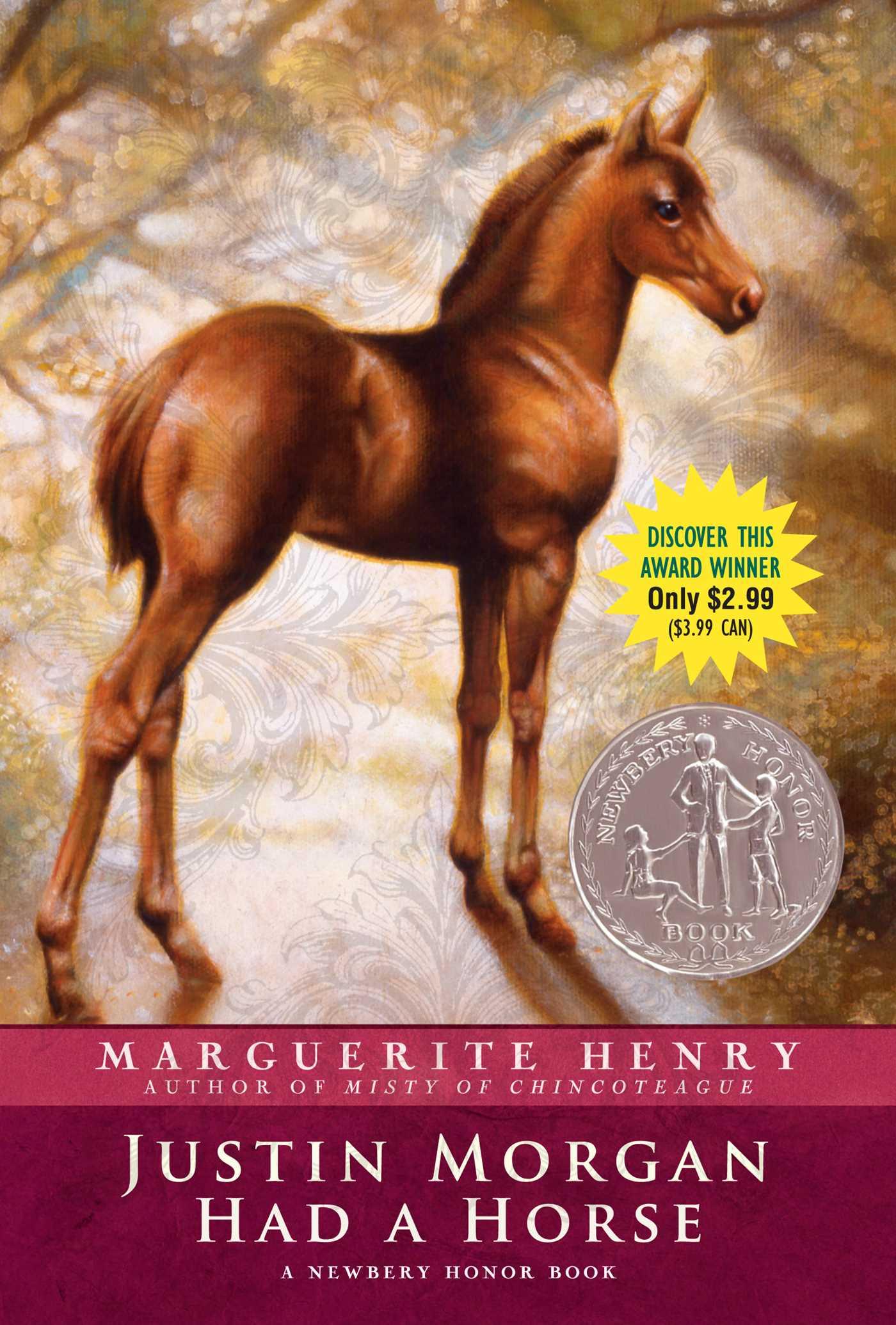 Justin morgan had a horse 9781442488014 hr