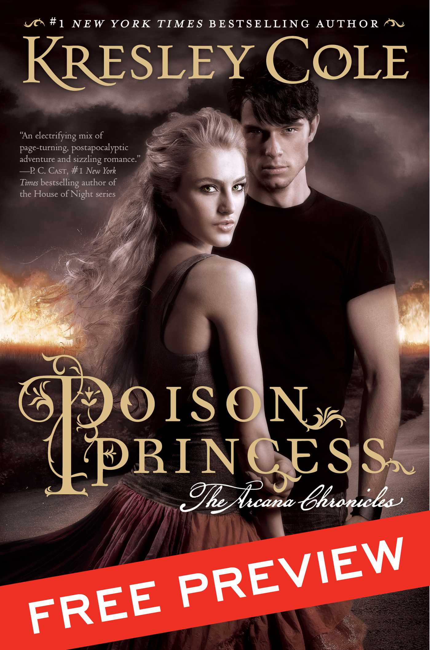 Poison princess free preview edition 9781442489578 hr