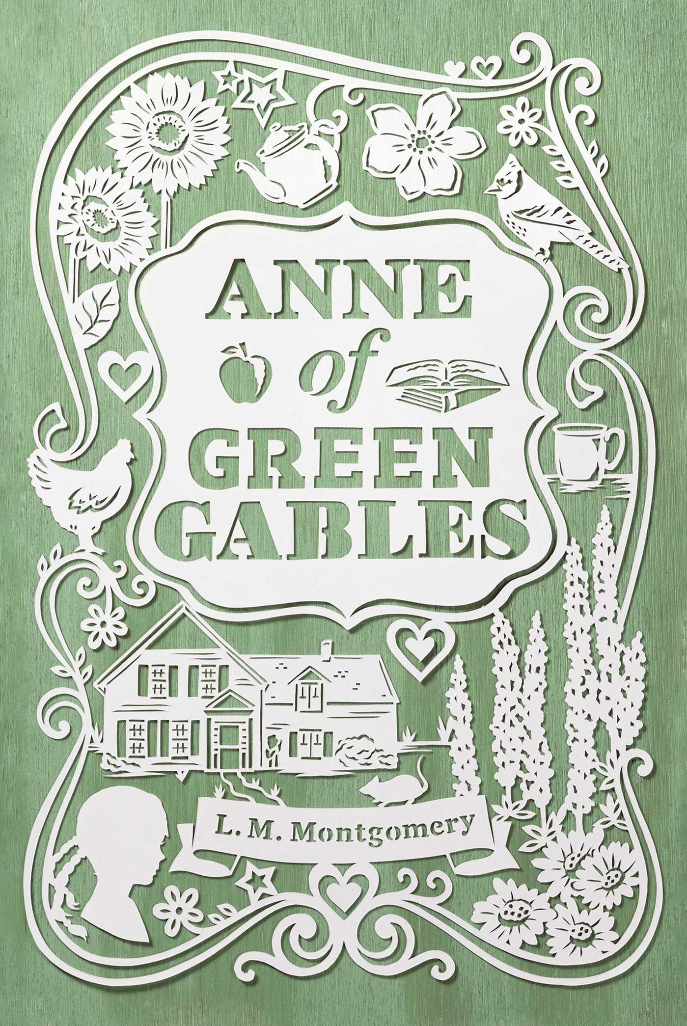 Anne Of Green Gables Book By L M Montgomery Official