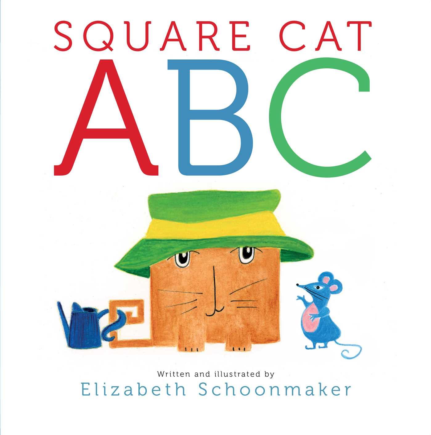 Square Cat Abc Book By Elizabeth Schoonmaker Official