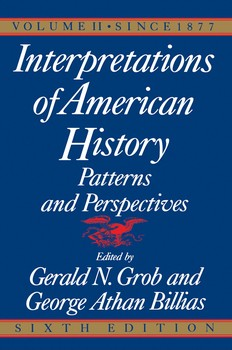 Interpretations of American History, 6th Ed, Vol.