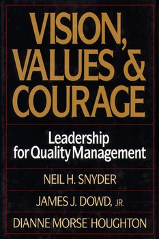 Vision, Values, and Courage