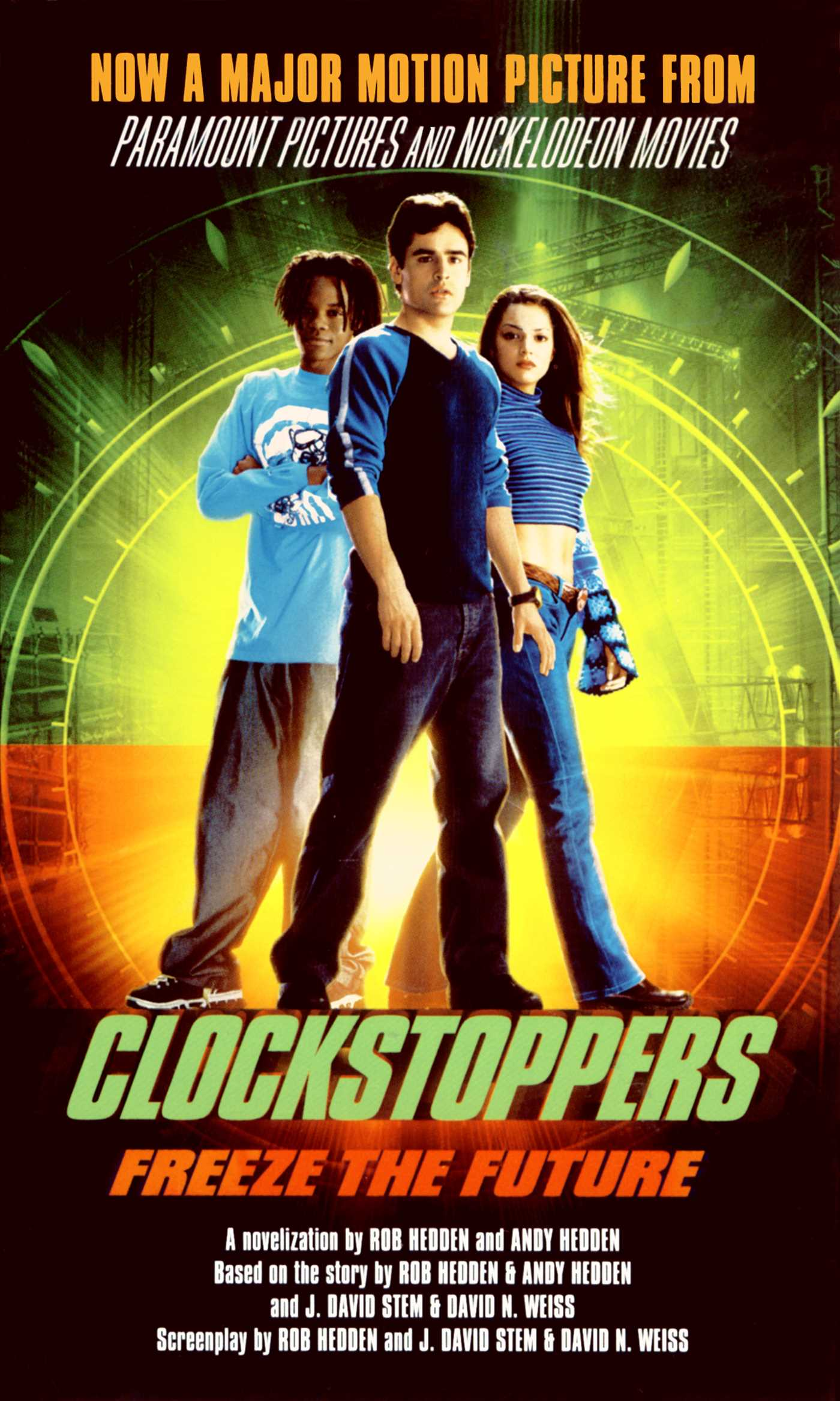 Clockstoppers 9781451604160 hr