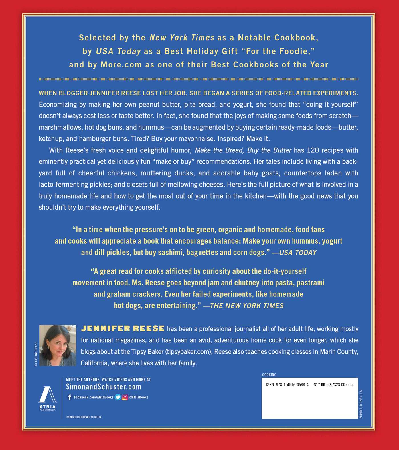 Make the Bread, Buy the Butter | Book by Jennifer Reese | Official ...